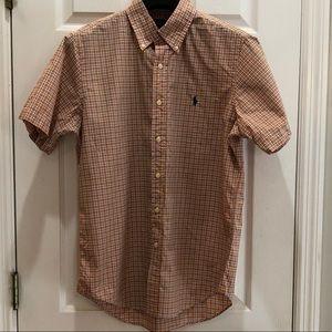Polo Ralph Lauren Short Sleeve Button Down MEDIUM